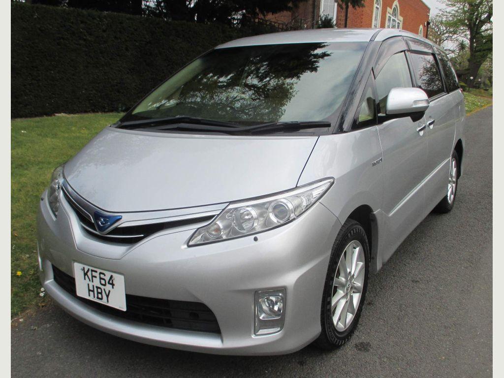 Toyota Estima MPV 2.4 Hybrid 8 Seats Euro 6 MPV 5dr Auto