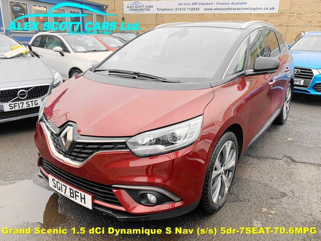 Renault Grand Scenic MPV 1.5 dCi Dynamique S Nav (s/s) 5dr