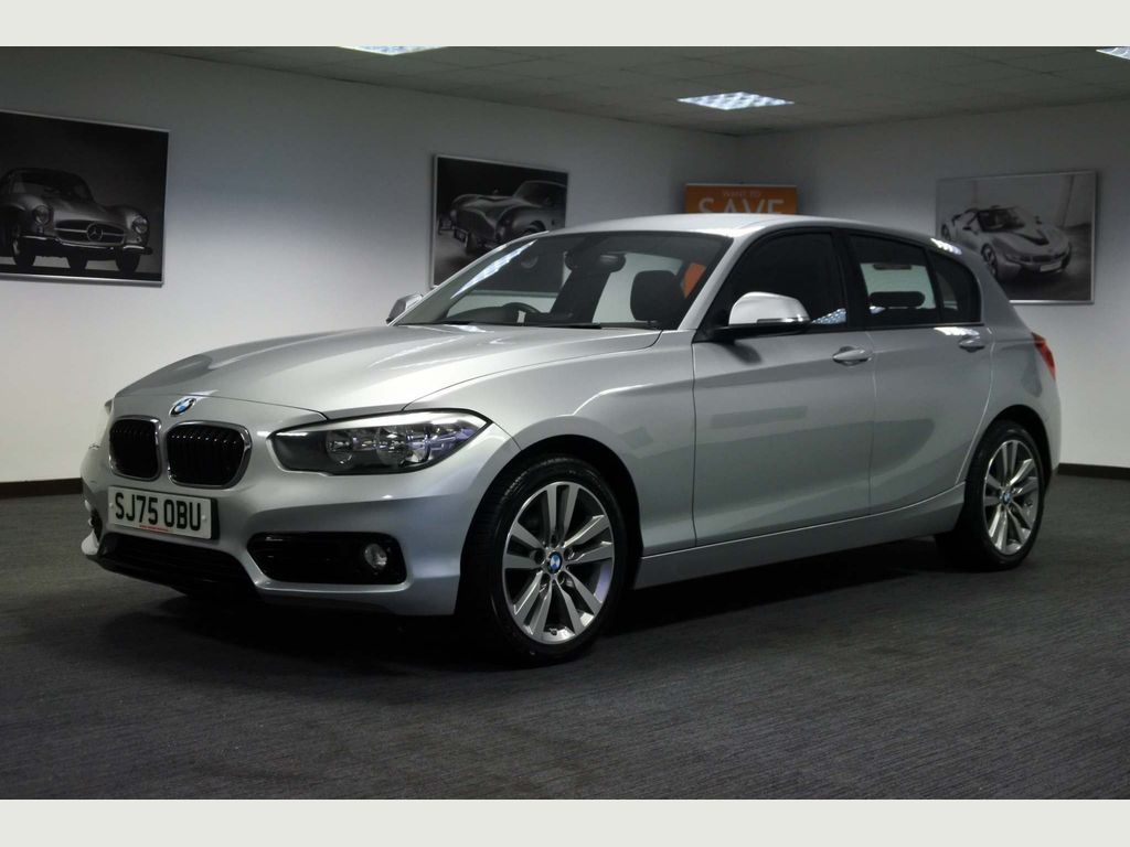 Used Bmw 1 Series Hatchback 2 0 118d Sport Auto S S 5dr In Wishaw North Lanarkshire Arthur Haslam Motoring