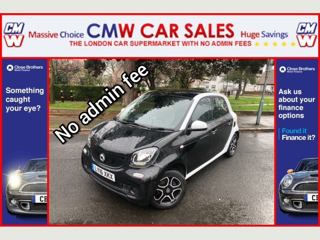 Smart forfour Hatchback 1.0 Prime Twinamic (s/s) 5dr