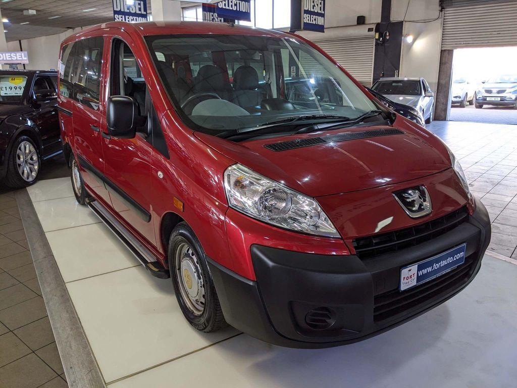 Peugeot Expert Tepee MPV 1.6 HDi Comfort 5dr