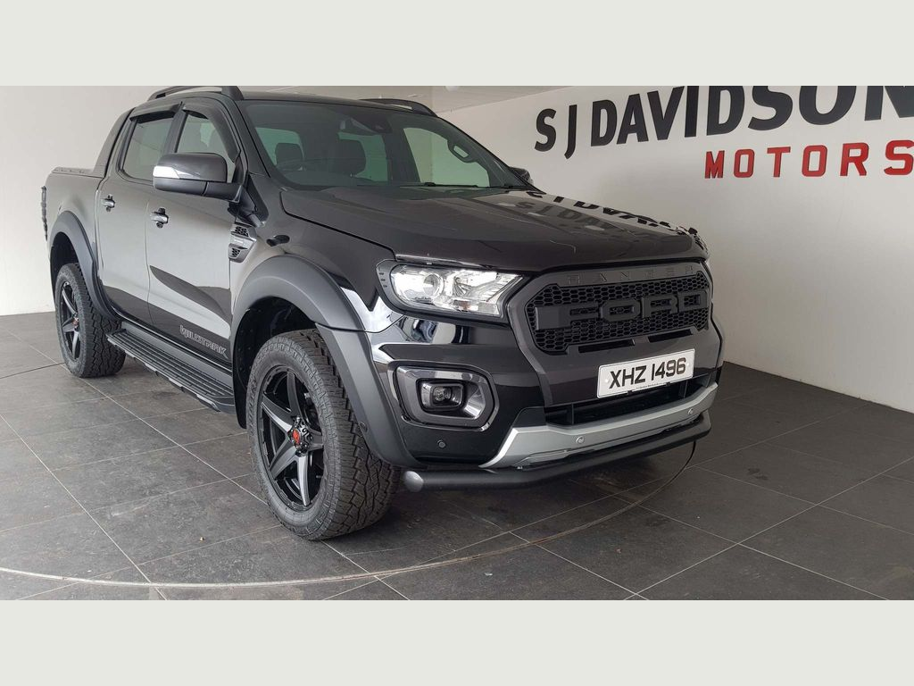Ford Ranger Pickup 2.0 EcoBlue Limited Double Cab Pickup Auto 4WD 4dr