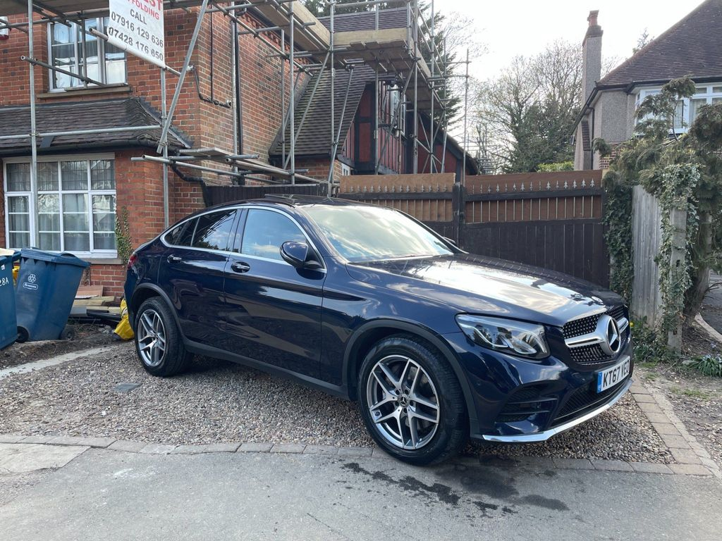 Mercedes-Benz GLC Class Coupe 2.1 GLC220d AMG Line (Premium Plus) G-Tronic 4MATIC (s/s) 5dr