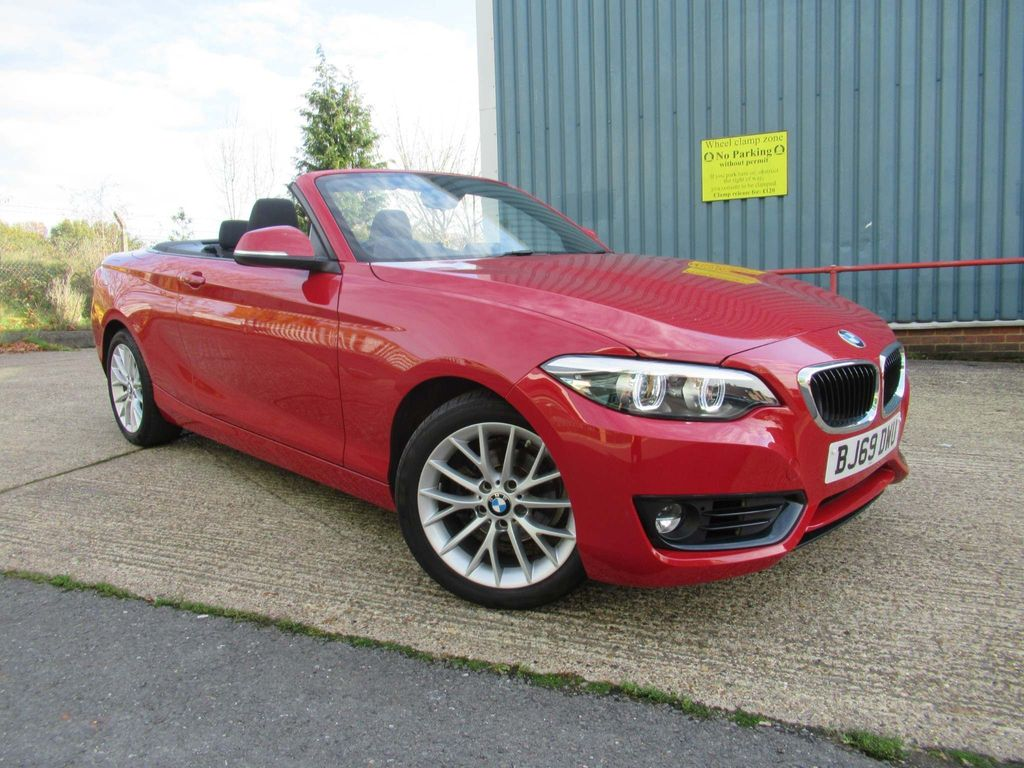 BMW 2 Series Convertible 1.5 218i GPF SE Auto (s/s) 2dr