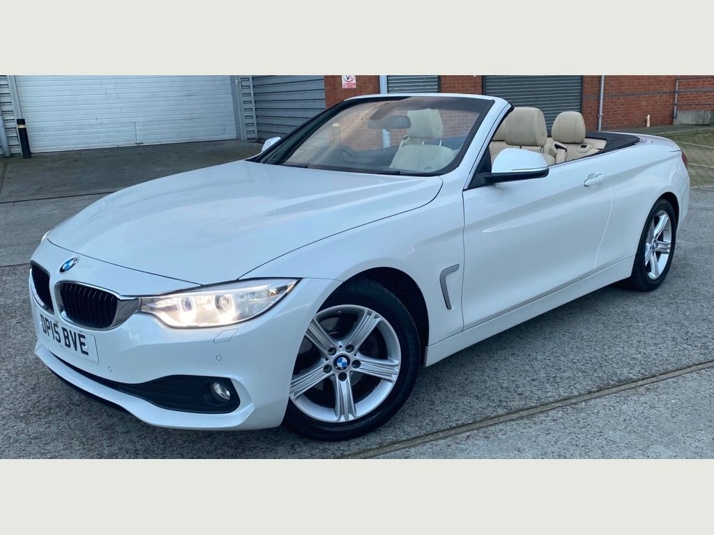 BMW 4 Series Convertible 2.0 420d SE Auto 2dr