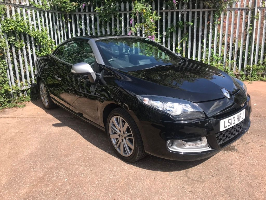 Renault Megane Convertible 1.6 dCi eco2 GT Line TomTom (s/s) 2dr