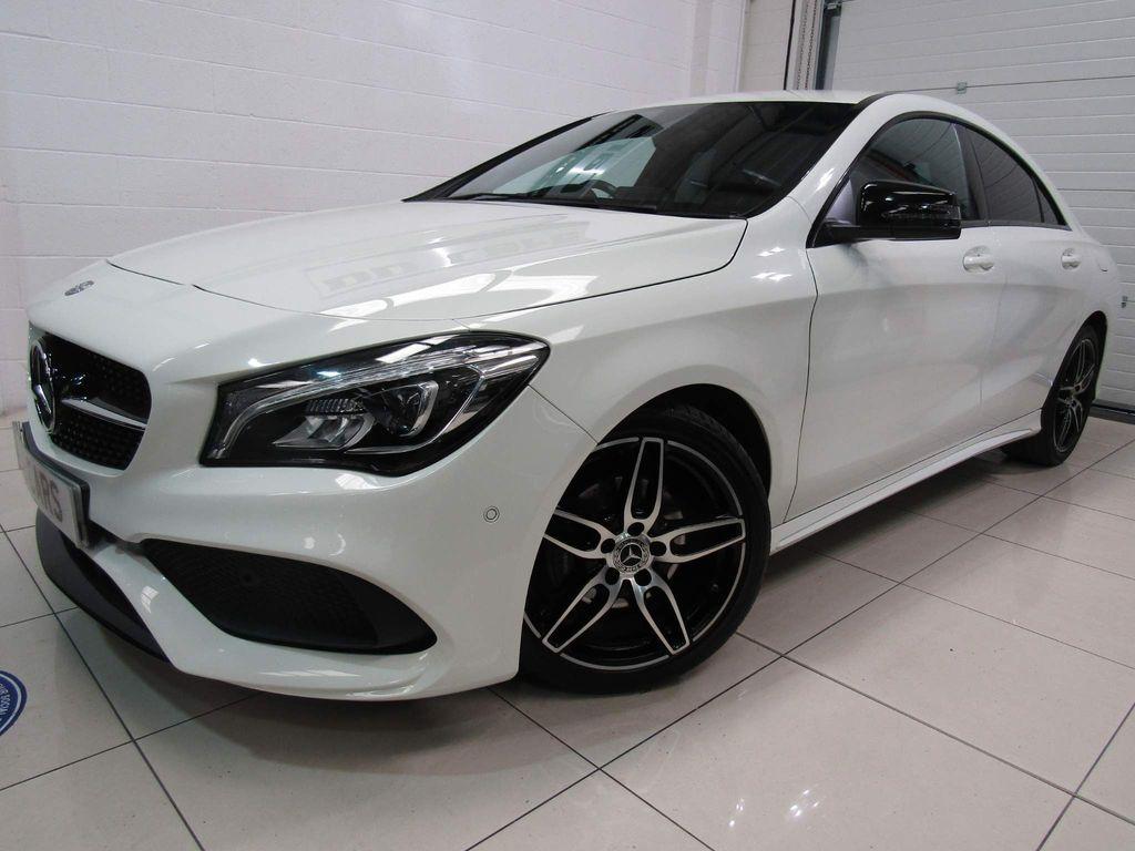 Mercedes-Benz CLA Class Coupe 1.6 CLA180 AMG Line (s/s) 4dr