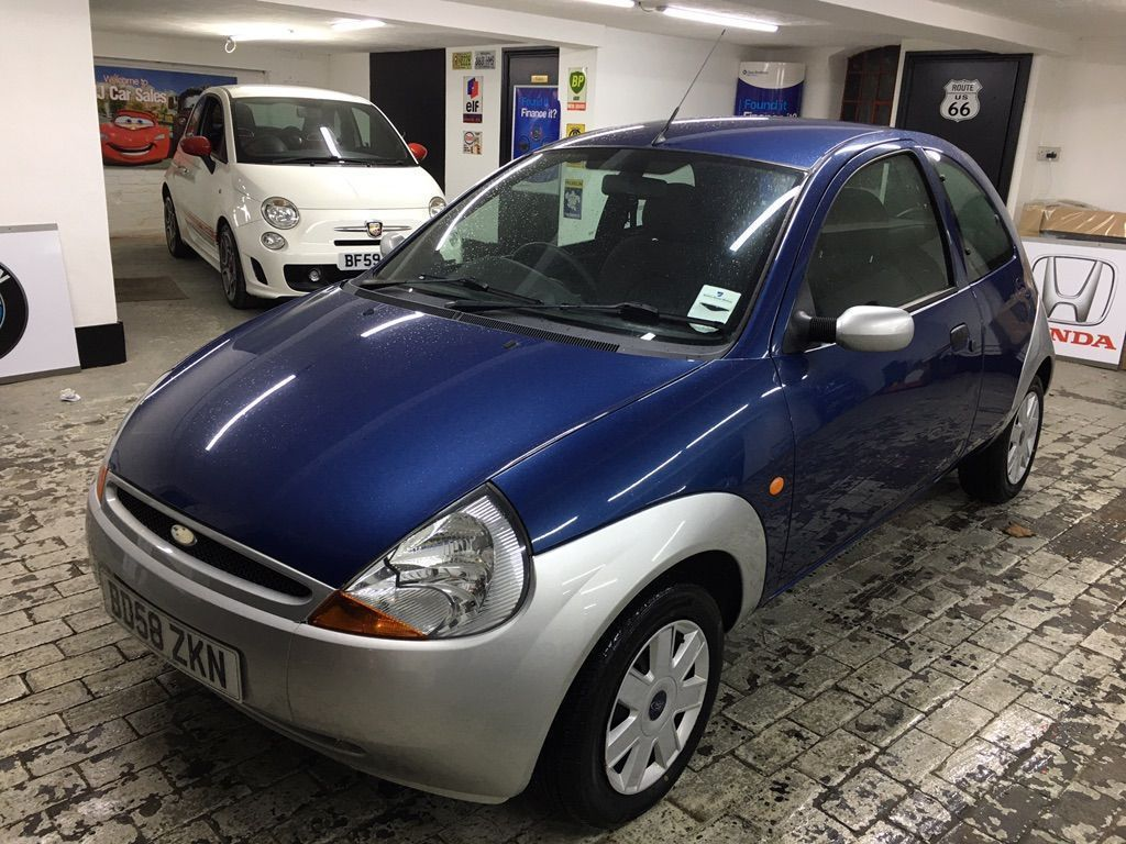 Ford Ka Hatchback 1.3 Style Climate Two-Tone 3dr