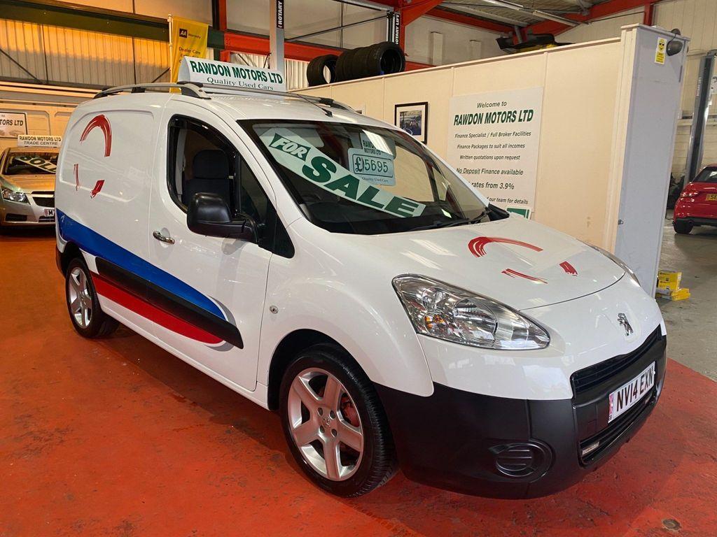 Peugeot Partner Combi Van 1.6 HDi S L1 850 SWB 4dr