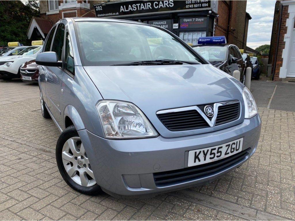 Vauxhall Meriva MPV 1.6 i 16v Breeze 5dr
