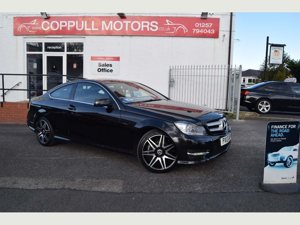 MERCEDES-BENZ C CLASS Coupe 2.1 C220 CDI BlueEFFICIENCY AMG Sport Plus 7G-Tronic Plus 2dr