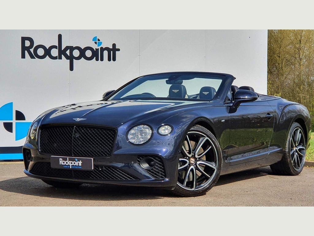 Bentley Continental Convertible 4.0 V8 GTC Auto 4WD (s/s) 2dr
