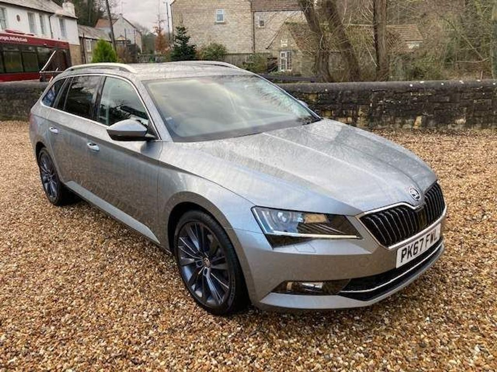 Used Skoda Superb Estate 1 4 Tsi Act Se L Executive Dsg S S 5dr In Wetherby West Yorkshire The Garage Bramham