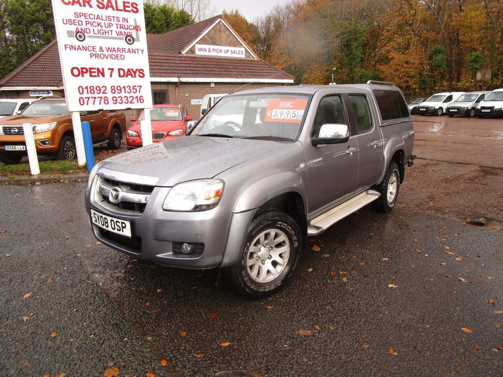 Mazda BT-50 Pickup 2.5 TD TS2 Double Cab Pickup 4x4 4dr