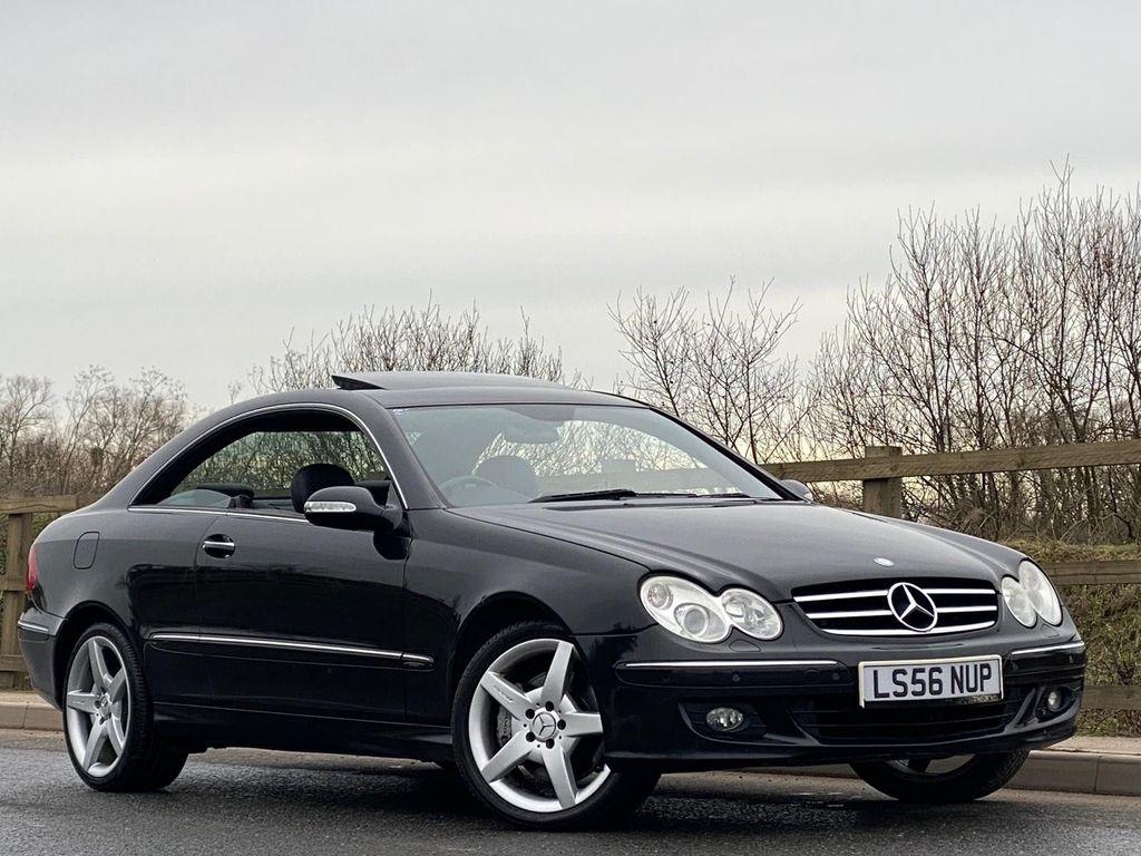 Mercedes-Benz CLK Coupe 3.5 CLK350 Avantgarde 7G-Tronic 2dr