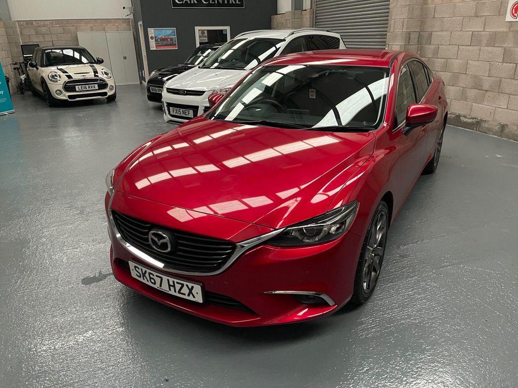 Mazda Mazda6 Saloon 2.2 SKYACTIV-D Sport Nav (s/s) 4dr