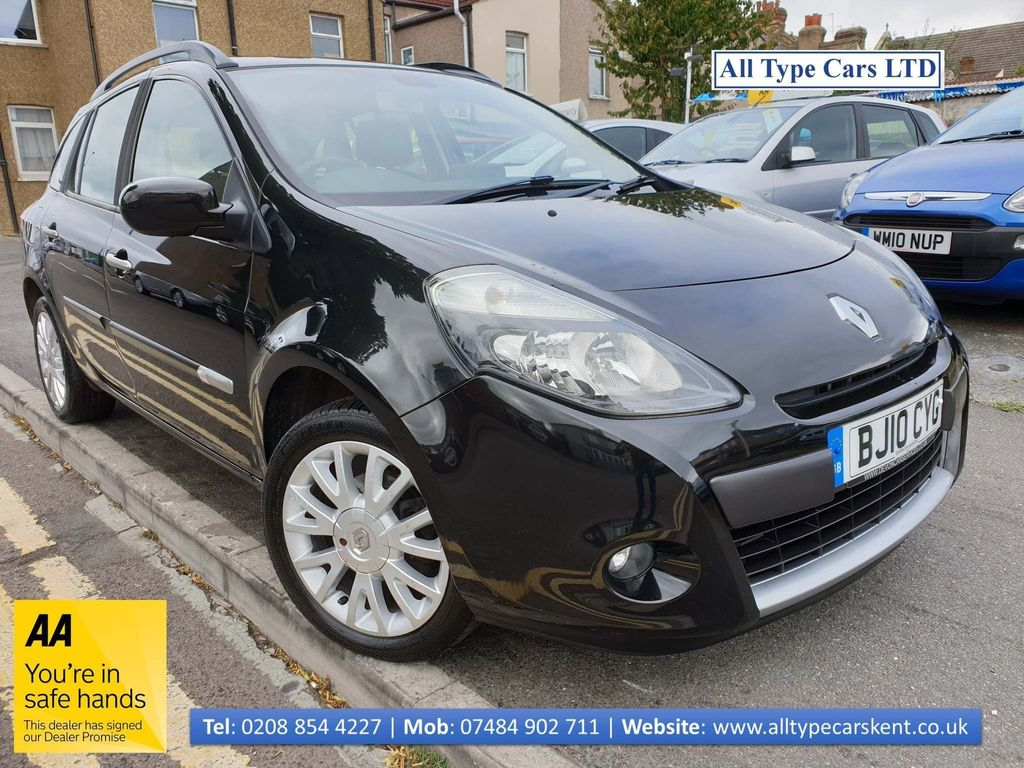 Renault Clio Estate 1.2 16v Dynamique Sport Tourer 5dr (Tom Tom)