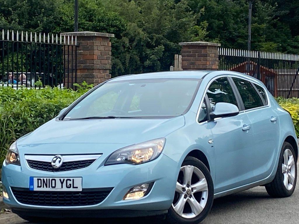 Vauxhall Astra Hatchback 1.6i Elite Auto 5dr