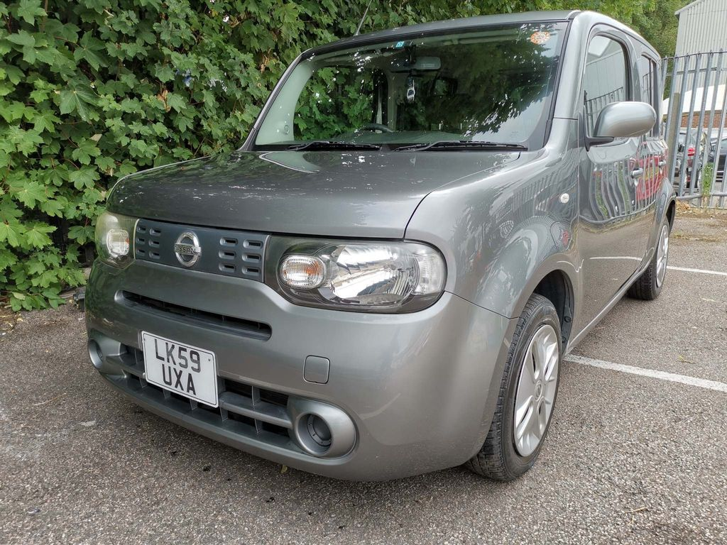 Nissan Cube Hatchback 1.5 AUTOMATIC GREY 4 CUBES AVAILABLE