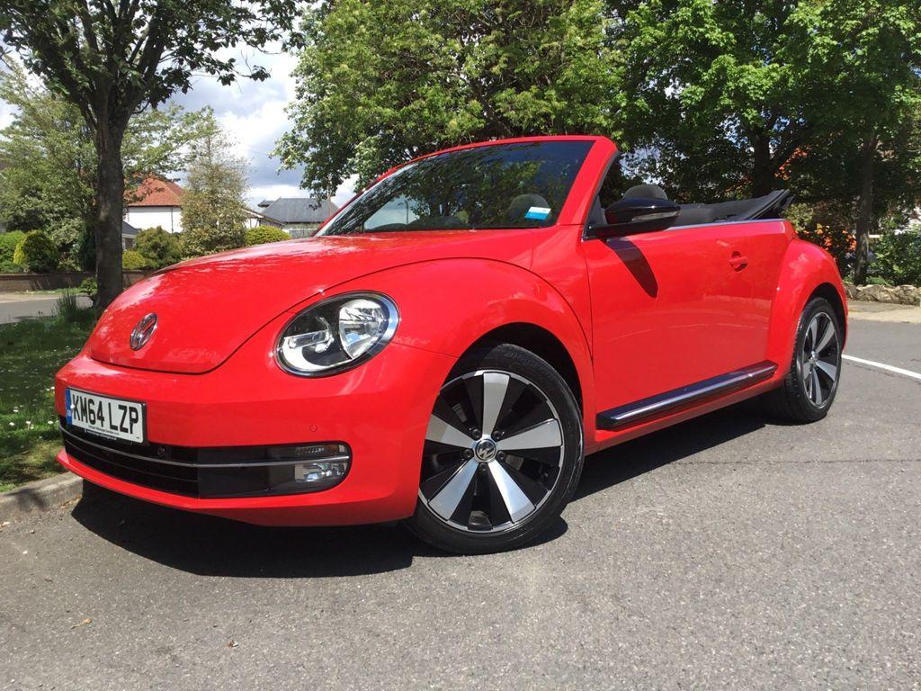 Volkswagen Beetle Convertible 1.4 TSI Sport Cabriolet 2dr
