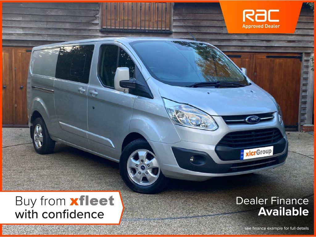 Ford Transit Custom Unlisted 2.0 TDCi 130ps Low Roof D/Cab Limited