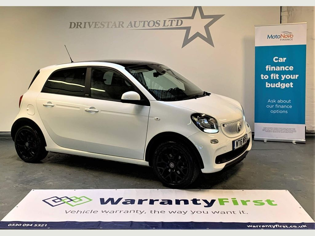 Smart forfour Hatchback 1.0 Edition White (s/s) 5dr