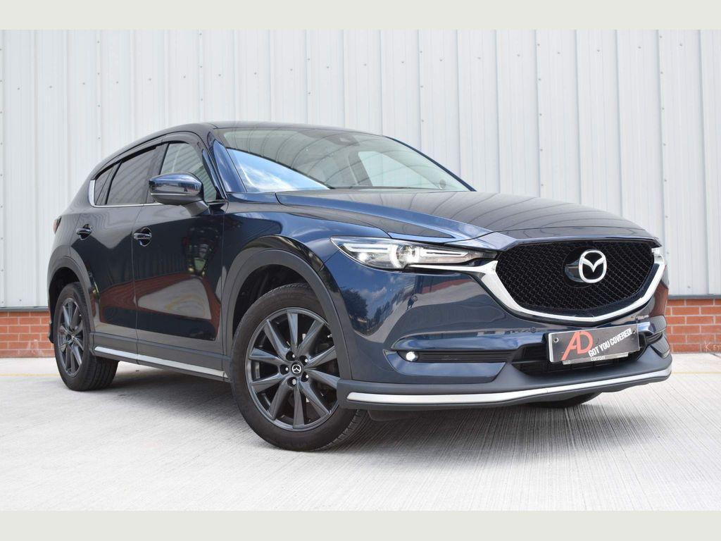 Mazda CX-5 SUV 2.2 SKYACTIV-D Sport Nav Auto (s/s) 5dr