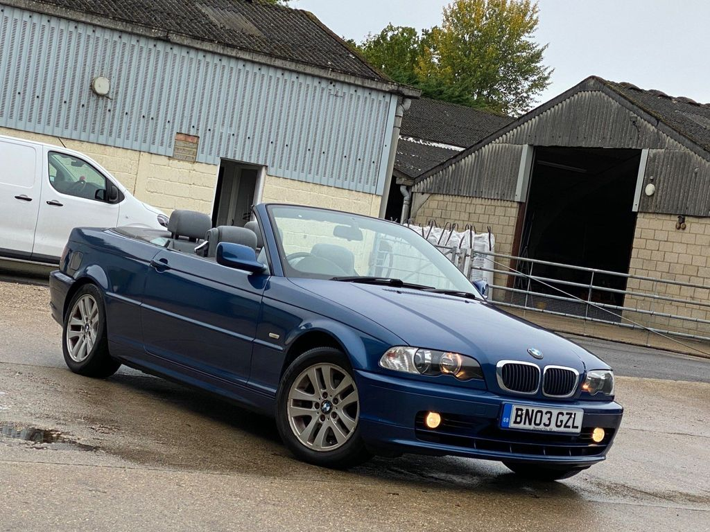 BMW 3 Series Convertible 2.0 318Ci 2dr