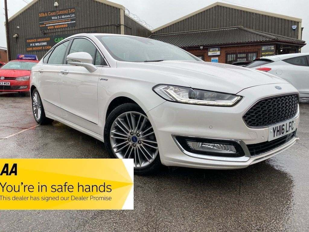 Ford Mondeo Saloon 2.0T EcoBoost Vignale Auto (s/s) 4dr