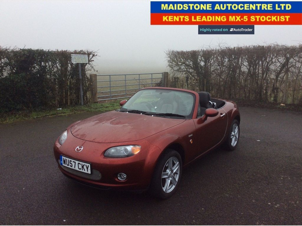 Mazda MX-5 Convertible 1.8 Icon Limited Edition
