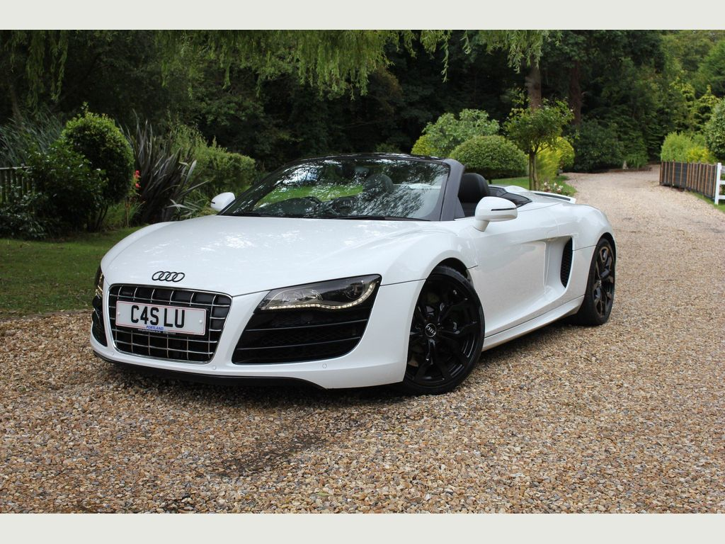 Used Audi R8 Convertible 5.2 Fsi V10 Spyder Quattro 2dr in ...