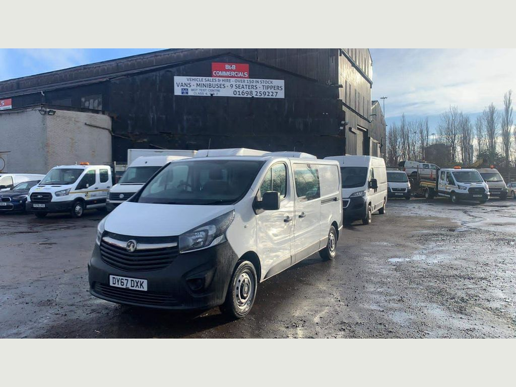 Vauxhall Vivaro Combi Van 1.6 CDTi 2900 Crew Van L2 H1 EU6 5dr (6 Seat)