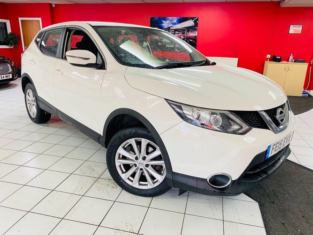 Nissan Qashqai SUV 1.6 dCi Acenta 5dr