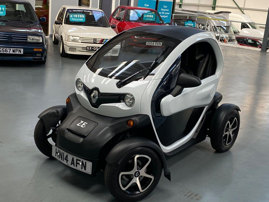 Renault Twizy Coupe Cargo Auto Battery Lease