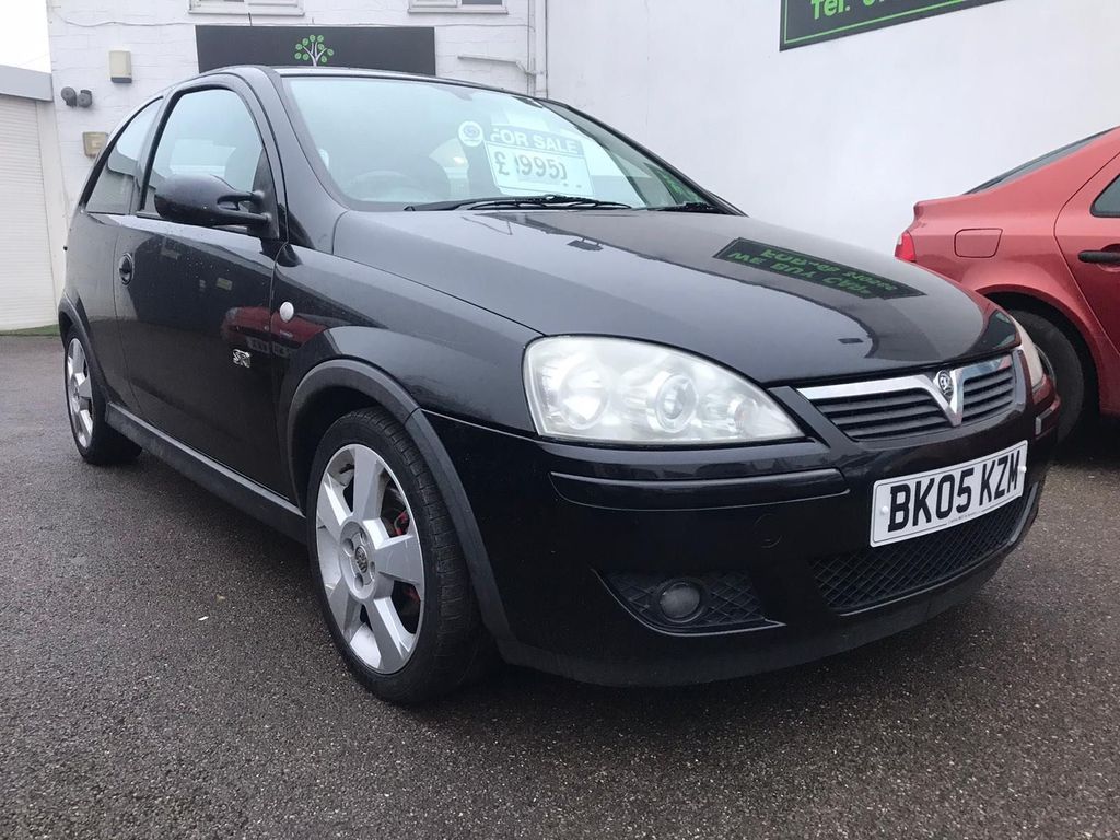Vauxhall Corsa Hatchback 1.8 i 16v SRi 3dr (a/c)