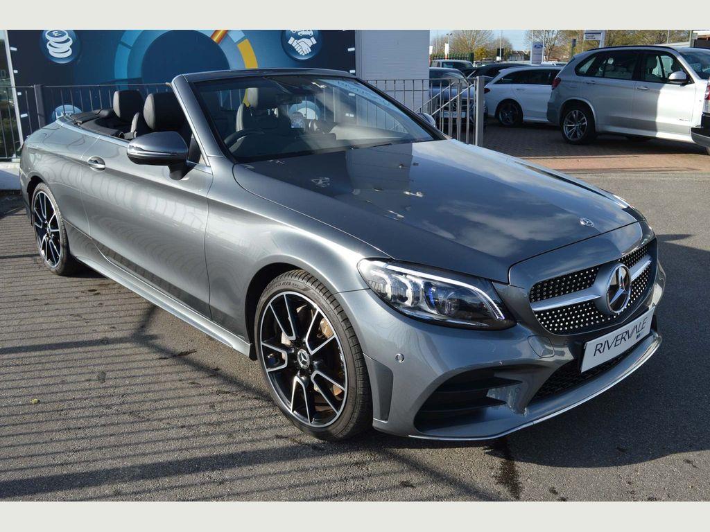 Mercedes-Benz C Class Convertible 2.0 C300 AMG Line (Premium) Cabriolet G-Tronic+ (s/s) 2dr