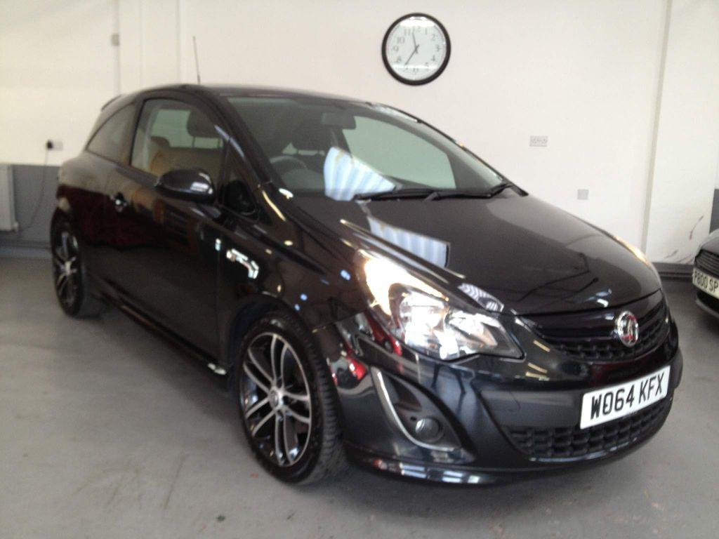 Vauxhall Corsa Hatchback 1.4 i 16v Black Edition (s/s) 3dr (a/c)