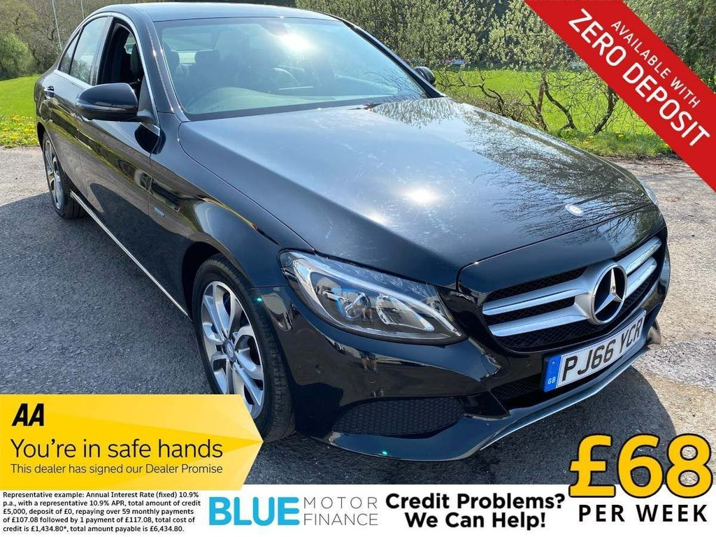 Mercedes-Benz C Class Saloon 2.0 C350e 6.4kWh Sport G-Tronic+ (s/s) 4dr