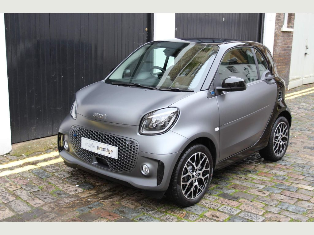 Smart fortwo Coupe 17.6kWh Prime Exclusive Auto 2dr (22kW Charger)