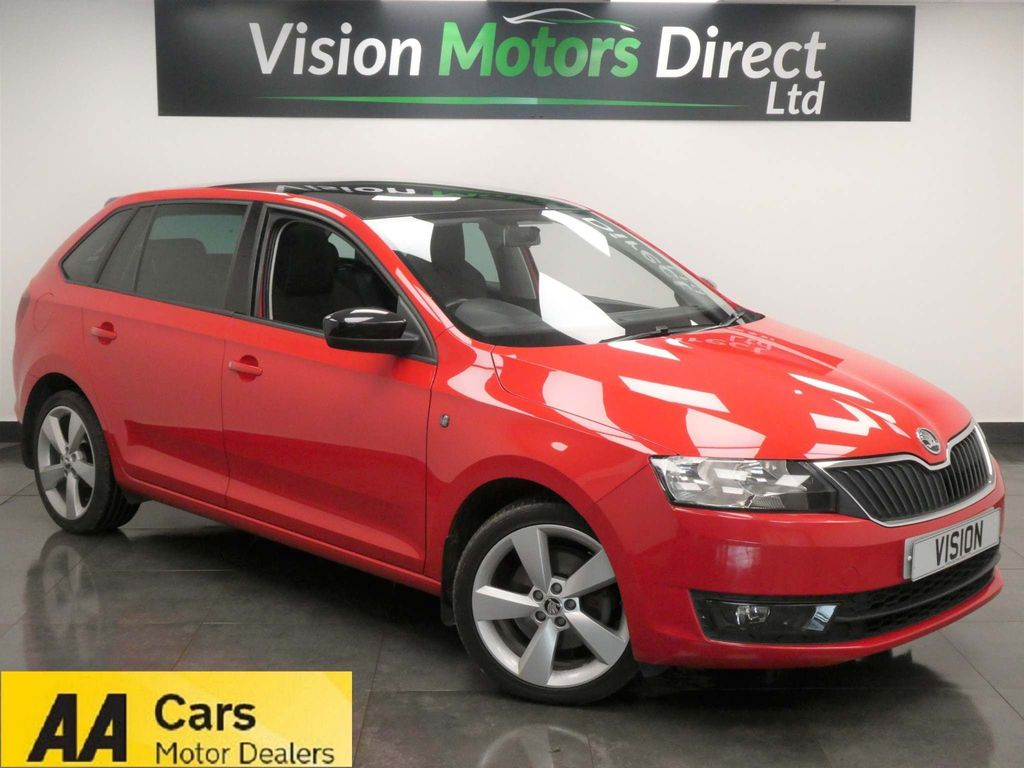 SKODA Rapid Spaceback Hatchback 1.2 TSI SE Sport Spaceback 5dr