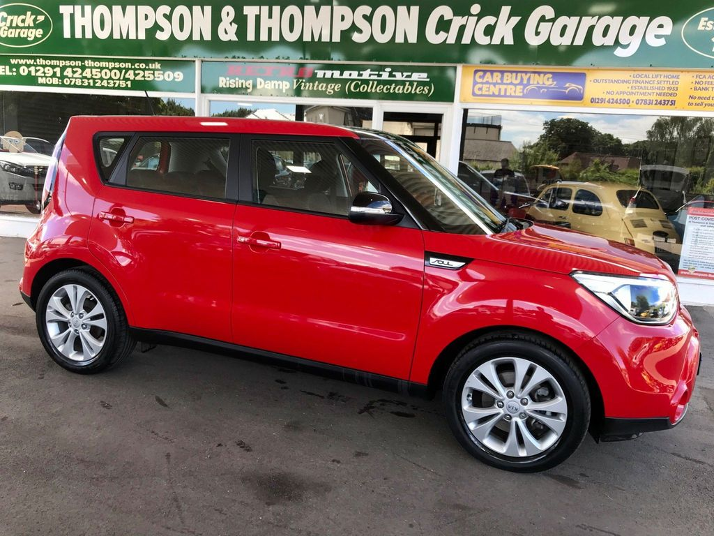 Kia Soul SUV 1.6 CRDi Connect Plus 5dr