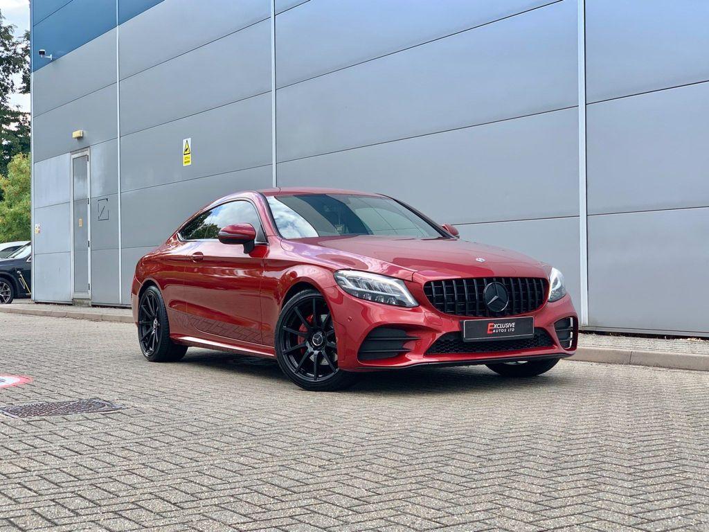 Mercedes-Benz C Class Coupe 2.0 C220d AMG Line G-Tronic+ (s/s) 2dr