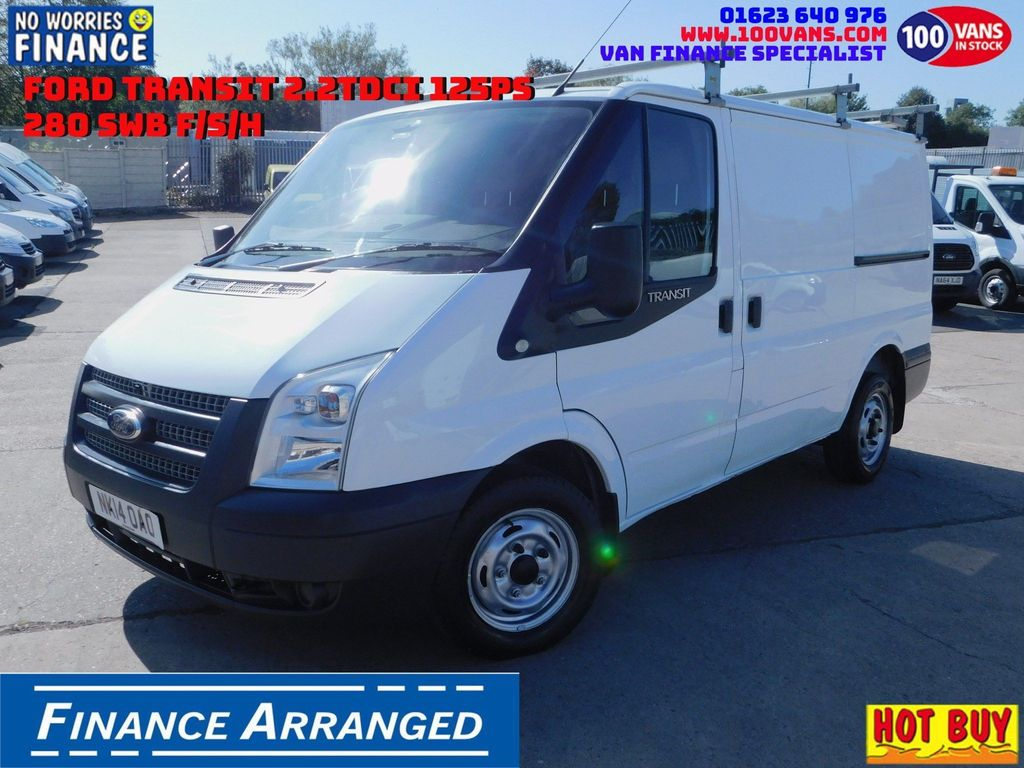 Ford Transit Unlisted 2.2TDCI 125PS 280 SWB F/S/H