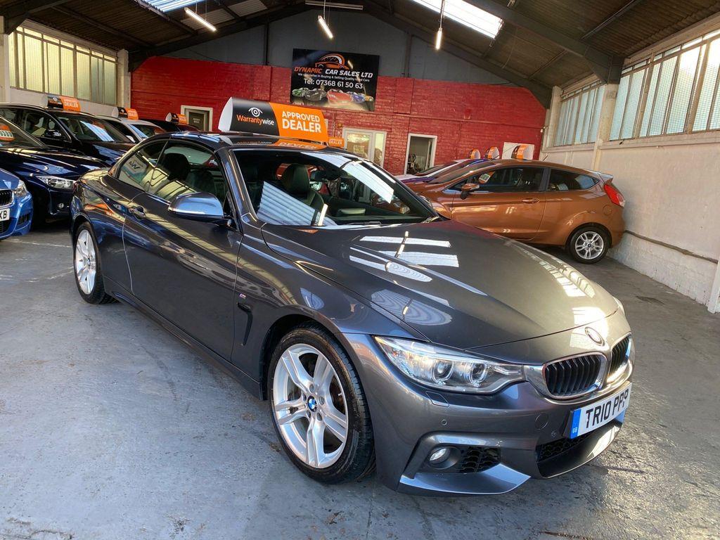 BMW 4 Series Convertible 3.0 430d M Sport Auto 2dr