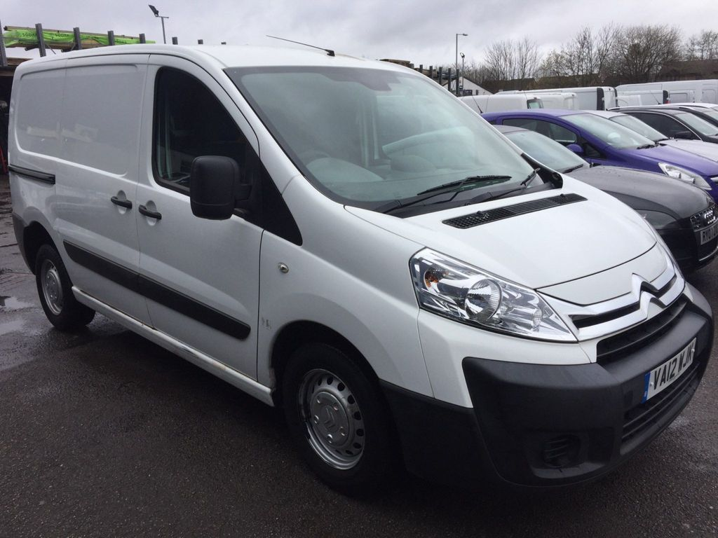 Citroen Dispatch Panel Van 1.6 HDi 1000 L1H1 Panel Van 5dr