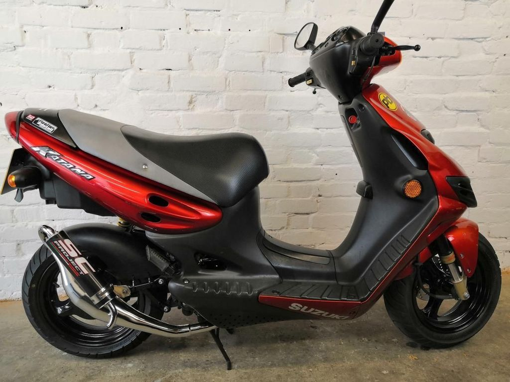 Suzuki AY50 Scooter