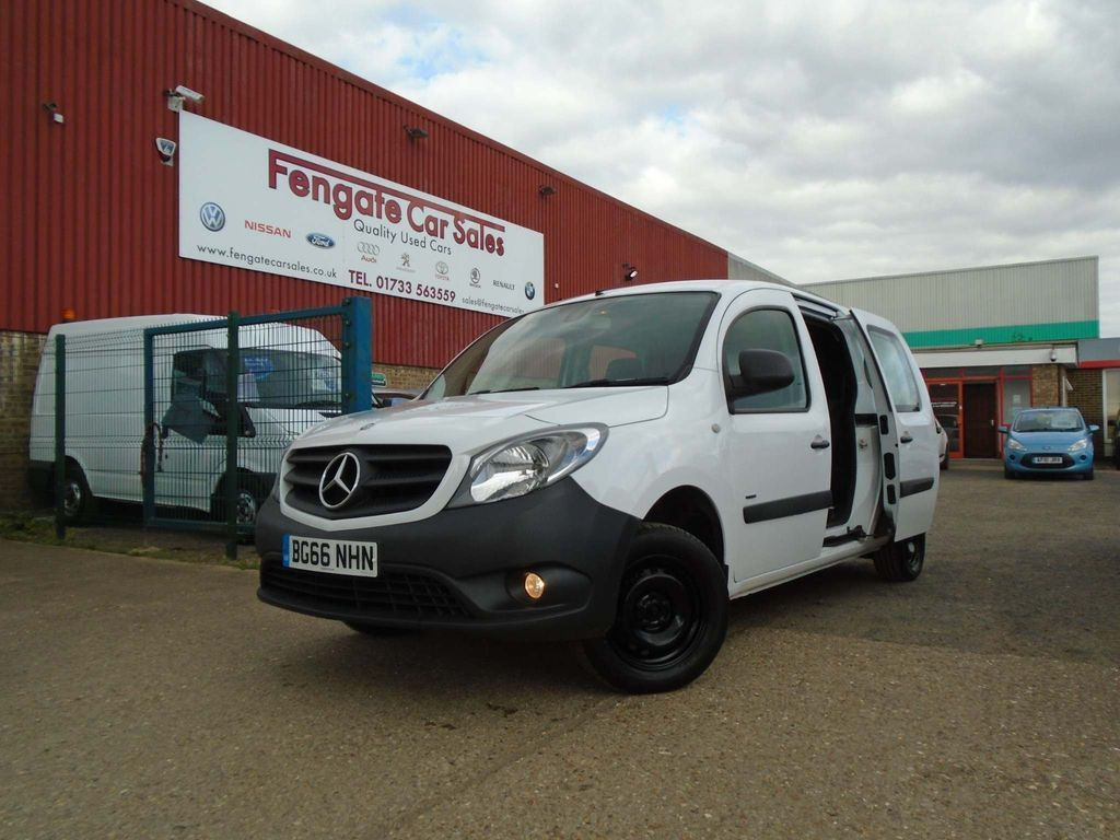 MERCEDES-BENZ CITAN Other 1.5 CDi BlueEFFICIENCY 109 L3 Dualiner 5dr