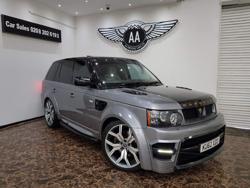 Land Rover Range Rover Sport SUV 3.0 SD V6 HSE Luxury Auto 4WD 5dr