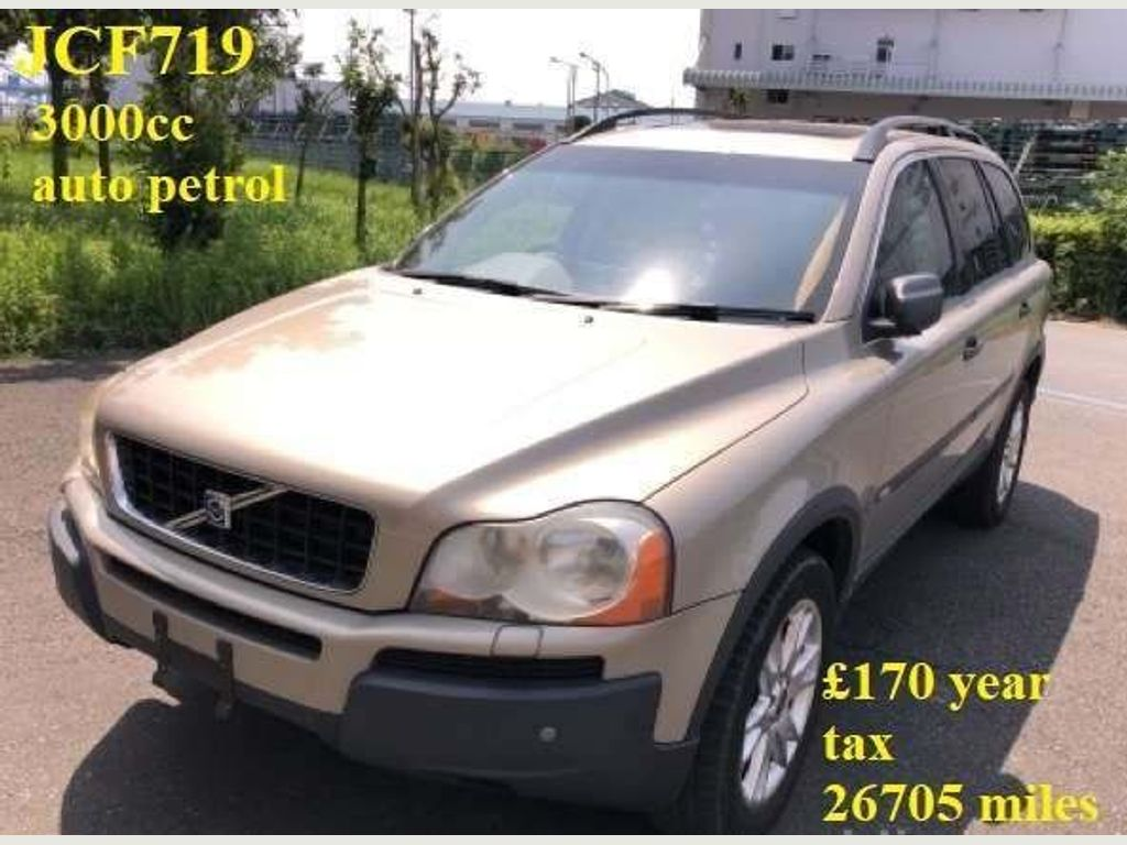 Volvo XC90 SUV 2.9 T6 SE Geartronic AWD £270 year tax