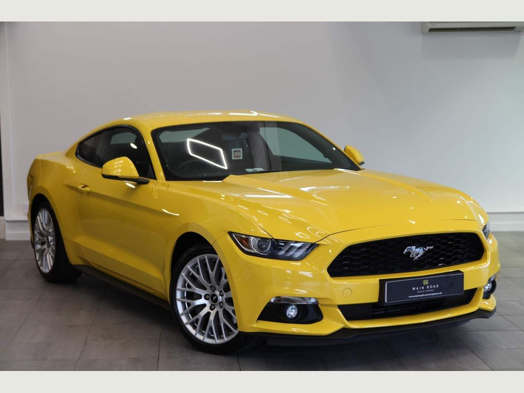 Ford Mustang Coupe 2.3T EcoBoost Fastback 2dr